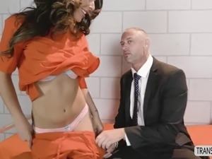 jail cell sex video