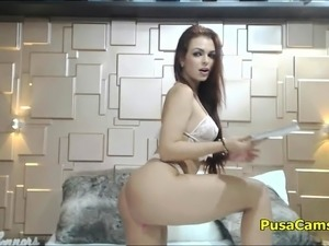 dancing topless at home video