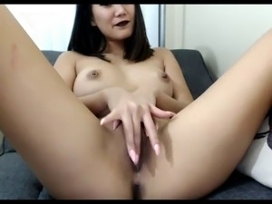 sexy asian fucks fingers live show