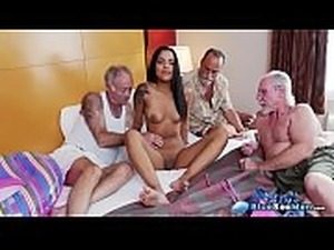 old geezer young girl sex