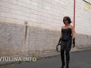 petite blondes leather boots