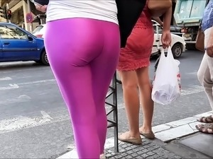 sexy girl poops in public