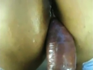 huge black ass cumshot