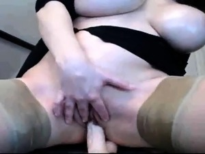 stockings and tits video