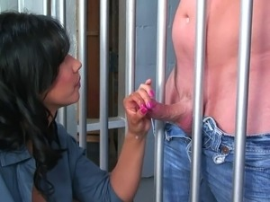 girl naked in jail