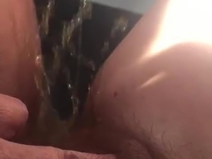 Bbw wife pissing
