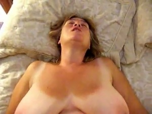 wife gown wild home video