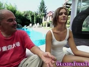 old man fucks young girl anal