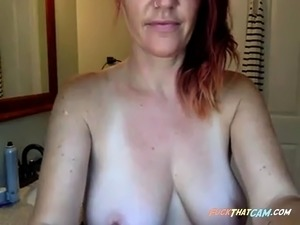 red head young big tits