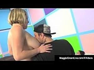 Maggie Green Has 5 Way Orgy W/ Noelle Easton &amp_ Bibi Noel