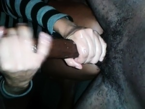 her fist sex with black guy