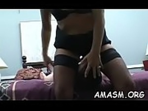 Girls on fire smothering chap in female domination xxx play