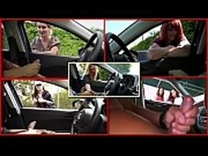 teen girl car handjob