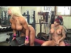 Muscle naked girls