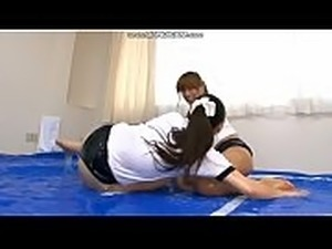 japanese girl wrestling strip