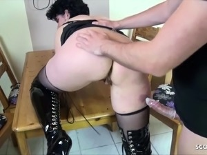 school girl fuck in kitchen