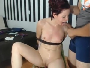 girl tied shorts cut porn