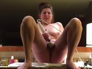 young couple fuck in bathroom